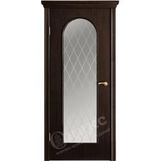 Дверь Оникс АРКА 2, Венге (ПО)