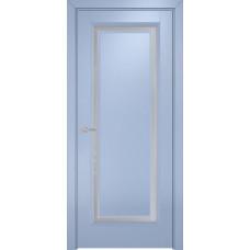 Дверь Оникс Бристоль 1, Эмаль голубая по МДФ