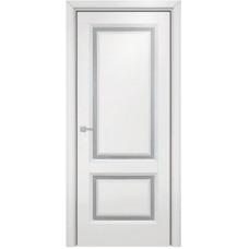 Дверь Оникс Бристоль, Эмаль белая по МДФ