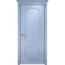 Межкомнатные двери Оникс Lite Венеция Эмаль Голубая по Ясеню