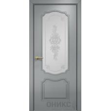 Межкомнатные двери Оникс Lite Венеция Эмаль по RAL 7040