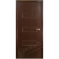 Межкомнатная дверь Оникс Виктория Венге
