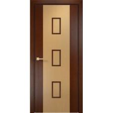 Межкомнатная дверь Оникс Комби Венге/Дуб