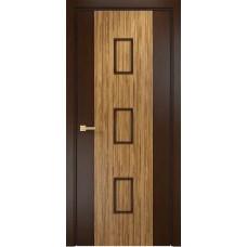Межкомнатная дверь Оникс Комби Венге/Зебрано