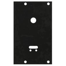 Пластина защитная Fuaro (Фуаро) для замков сувальдных (ключ внизу, тип-размер CISA 57.535)