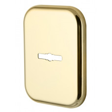 Декоративная Квадратная Armadillo (Армадилло) накладка на сувальдный замок PS-DEC SQ (ATC Protector 1) GP-2 Золото