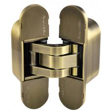 Петля скрытой Armadillo (Армадилло) установки с 3D-регулировкой 11160UN3D (Architect 3D-ACH UNIVERSAL 60) AB Бронза