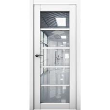 Дверь межкомнатная Cobalt 23 Белый Остекленная