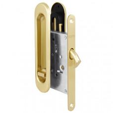 Защелка Punto (Пунто) с ручками для раздвижных дверей Soft LINE SL-011 SG