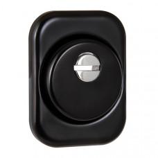Броненакладка DEF Fuaro (Фуаро) 4286 SQ XL квадрат (черный) BL-24