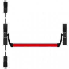 Ручка-штанга нажимная Fuaro (Фуаро) 1700С с тягами в комплекте для двухстворчатых дверей