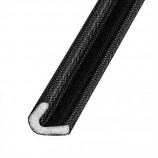 Самоклеящийся уплотнитель Fuaro (Фуаро) ППУ (15x10 мм), черный (500 м)