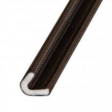 Самоклеящийся уплотнитель Fuaro (Фуаро) ППУ (15x10 мм), коричневый (500 м)