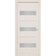 Дверь межкомнатная 226 Слоновая кость (Ral 9001) Остекленная