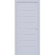 Дверь межкомнатная 225 Серый шелк (Ral 7047) Остекленная