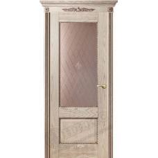 Дверь Оникс АЛЕКСАНДРИЯ 2, Патина (ПО)