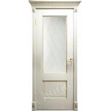 Дверь Оникс АЛЕКСАНДРИЯ 2, Патина золото (ПО)