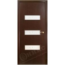 Дверь Оникс ВИКТОРИЯ, Венге (ПО)