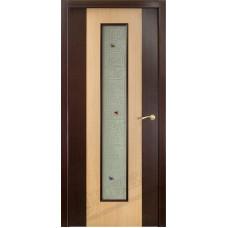 Дверь Оникс КОМБИ, Венге (ПО)