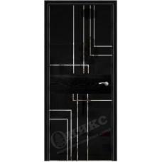 Дверь Оникс СОЛО 2, Абрикос тангентальный (ПГ)