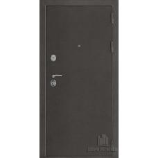 Дверь входная Галеон 2, цвет темное серебро антик, панель - галеон цвет сандал светлый321