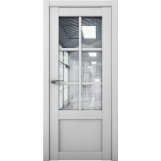 Дверь межкомнатная Cobalt 21 Серый Остекленная