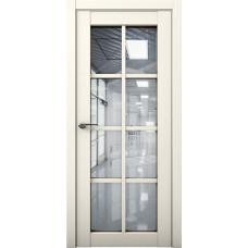 Дверь межкомнатная Cobalt 22 Слоновая кость Остекленная