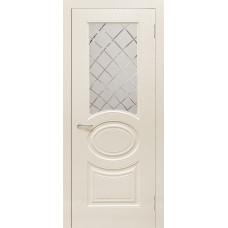 Межкомнатная дверь Роял 1 остекленная